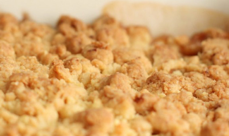 Pâte à crumble rapide - Cette recette vous permettra de réussir d'excellents plats et desserts.