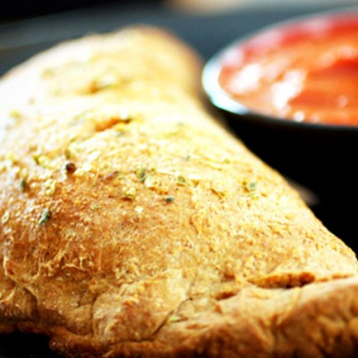 Calzone maison à l'italienne - Le calzone est une délicieuse alternative à la traditionnelle pizza.