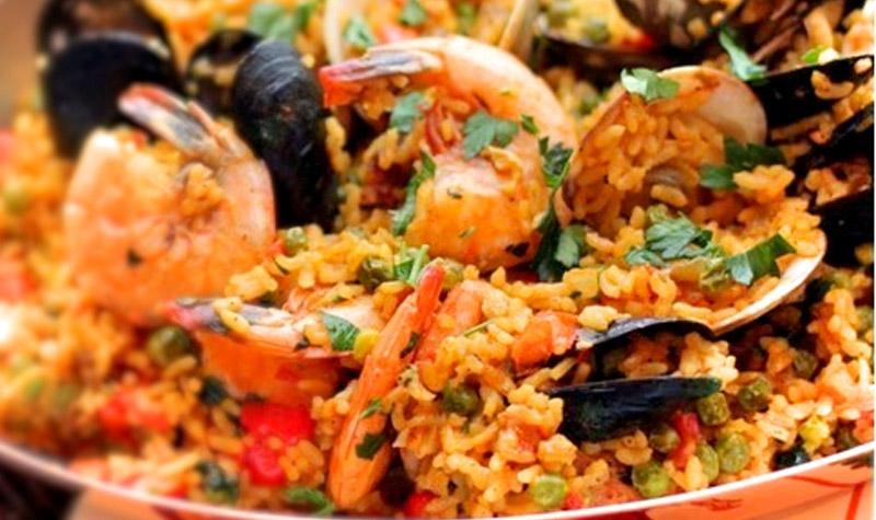 Pa lla valencienne recette facile le bon chef for Plat cuisine bon pour la sante