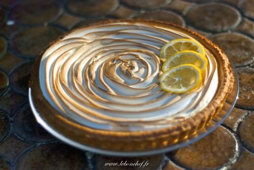 Tarte au citron meringuée - Un dessert qui va littéralement faire fondre vos convives.