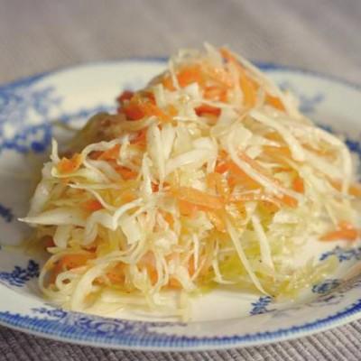 Chou chinois en salade - Cette salade est un véritable concentré de fraîcheur et de vitamines.
