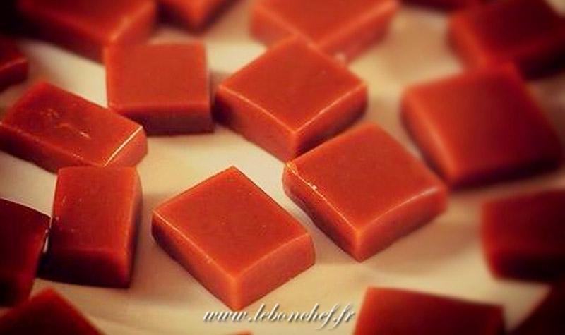 Bonbons de caramels mous - N'essayez pas de comparer ces friandises maison aux caramels industriels d'aujourd'hui!