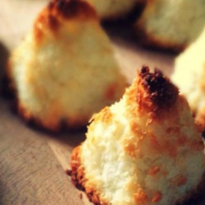 Rochers à la noix de coco - Une véritable gourmandise à savourer à l'heure du goûter.
