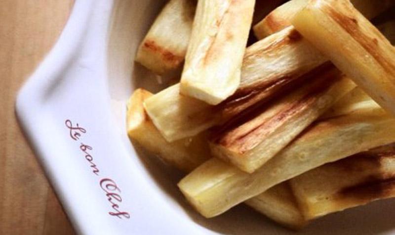 Frites de panais au four frites sans friteuse le bon - Frites pour friteuse au four ...