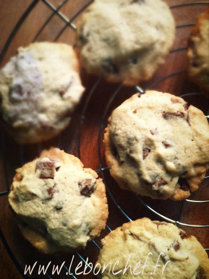 cookies au chocolat au lait le bon chef. Black Bedroom Furniture Sets. Home Design Ideas