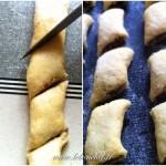 Biscuits aux figues - Placer les biscuits sur une plaque antiadhésive.