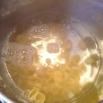 Pâtes à la ricotta de brebis - pour une cuisson optimale n'hésitez pas à utiliser beaucoup d'eau.