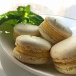 Macarons with lemon and mint from my masterclass in Grenoblehellip