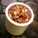 Mousse au chocolat au lait, noisettes et gavottes - Laissez-vous tenter par l'envie de vous faire plaisir avec cette délicieuse mousse.