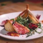 Salade de rougets - Une salade colorée à déguster sans modération! (Photo : Elodie Davis).