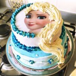 Elsa du film Disney Frozen aux 4 chocolats stylis parhellip