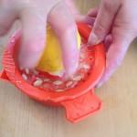 Salade de la mer à l'italienne - À l'aide d'un presse-agrumes, presser le jus de 5 citrons.