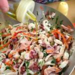 Salade de la mer à l'italienne – Assaisonnement