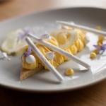 Tarte au citron meringuée revisitée - Une tarte au citron meringuée un peu différente mais dont le gout est préservé ! (Photo : Elodie Davis).