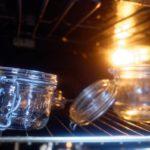 Bouillon de légumes en poudre maison - Stériliser les bocaux en les plaçant dans le four à 115° C (Th. 3-4) pendant 12 minutes.