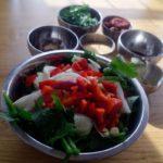 Bouillon de légumes en poudre maison - Ingrédients pour le bouillon de légumes.