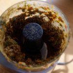 Bouillon de légumes en poudre maison - Mixer le plus finement possible.